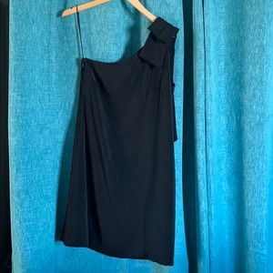 EUC Laundry by Shelli Segal One Shoulder Dress